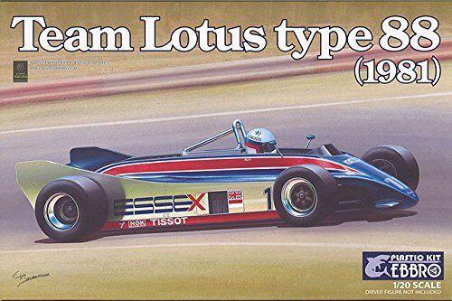 El nuevo outlet de marcas online. Ebbro 1 20 Squadra Squadra Squadra Lotus Tipo 88 (1981)  011  autorización