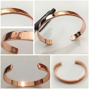 Image Is Loading New Magnetic Copper Bracelet Arthritis Therapy Pain Relief