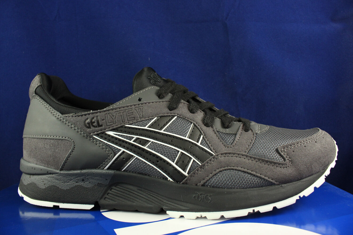ASICS GEL LYTE V WHITE 5 DARK GREY BLACK WHITE V HN6A4 1690 SZ 13 d76579