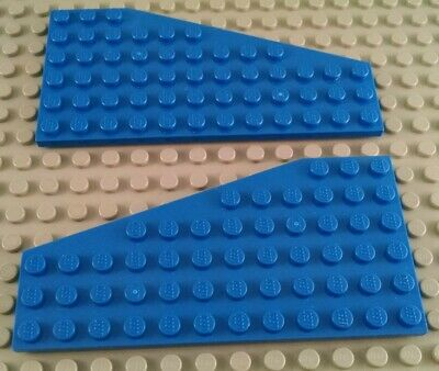 LEGO Pair of Dark Gray 4x8 Airplane Space Wings