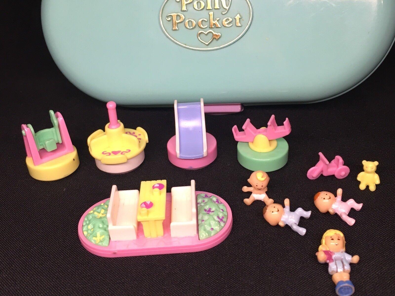 Polly Pocket  1992 Babysitting Stamper Set Stampin Stamping Baby stempel 17.2.