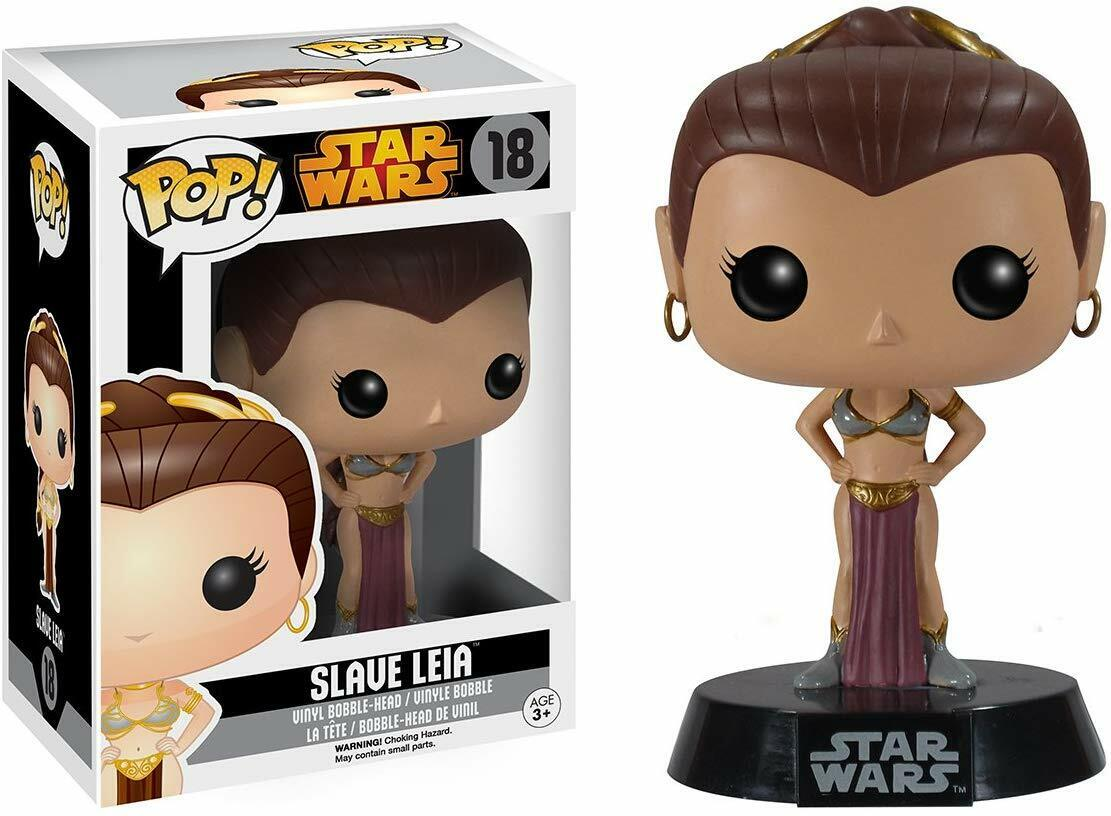 Funko Pop  Star Wars Slave Leia Vinyl Bobble Head Figure