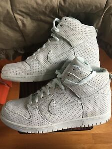 sports shoes b107f b8d2e Details about NIKE SB DUNK PREMIUM HIGH DQM DAVES QUALITY MEATS ICE GREEN  Lobster MENS 12