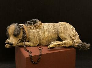 Cane pastore  Animale Da Presepe arte presepiale Cortile Scena Campestre