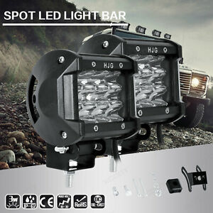 2X-36W-LED-Auto-Fernscheinwerfer-Zusatzscheinwerfer-Arbeitsscheinwerfer-12V-24V