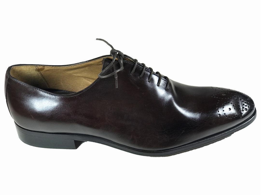 servizio di prima classe Marrone Handmade Italian Leather Leather Leather Dress scarpe  Oxford scarpe  Uomo scarpe 43-  Miglior prezzo