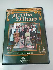 Arriba-y-Abajo-Segunda-Temporada-2-Completa-4-x-DVD-Espanol-Ingles-3T