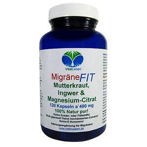 Migraene-Fit-Mutterkraut-Ingwer-amp-Magnesium-Citrat-120-Kapseln-a-400mg-25766