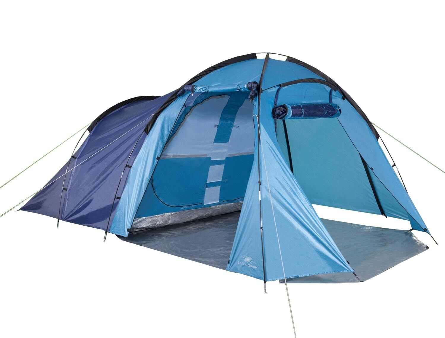 4 Persons Large Capacity Tent 450x270x185cm Camping Tent Group Tent Family Tent