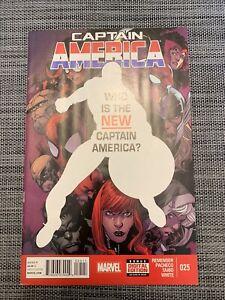 CAPTAIN AMERICA #25 1st Appearance Of SAM WILSON As CAPTAIN AMERICA