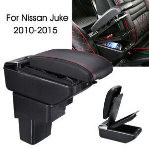 Accoudoir-Appuie-bras-Central-Console-Boite-Rangement-pour-Nissan-Juke-2010-2015