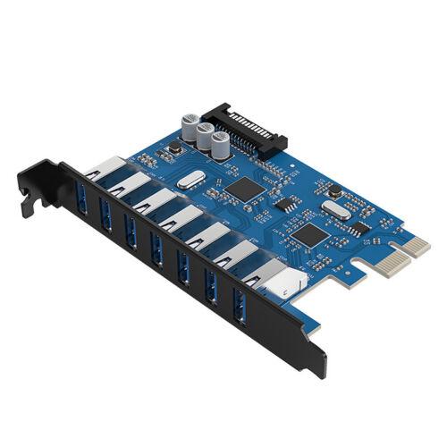 ORICO PVU3-7U Internal USB3.0 Expansion Card 7 Port PCI Card support PCI Express