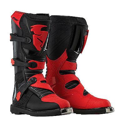 New Thor-MX Blitz LS Motocross//Offroad Adult Boots US-13 Black