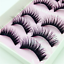 5-Pairs-Top-3D-100-Mink-Soft-Long-Thick-Makeup-Eye-Lashes-False-Eyelashes-CN thumbnail 14