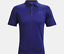 thumbnail 8 - New Mens Under Armour Muscle Golf Polo Shirt Top Performance Athletic Black Navy