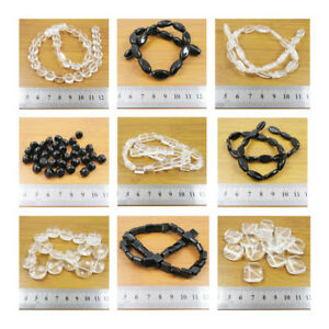 GLASS-BEADS-VARIOUS-SHAPES-amp-SIZES-26-STYLES-BEADING-JEWELLERY-MAKING-CRAFTS