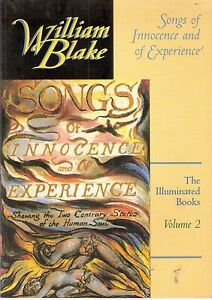 WILLIAM-BLAKE-Songs-of-Innocence-amp-of-Experience-Blakes-illuminated-books-Vol-2