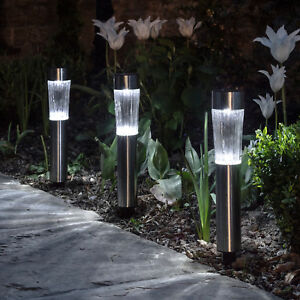 3er-Set-LED-Solar-Camino-Iluminacion-Jardin-Varilla-de-Luz-Plata-Exterior