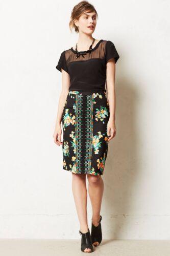NEW sz XS Anthropologie Nadi Pencil Skirt By Ranna Gill Gorgeous /& Femmine RARE