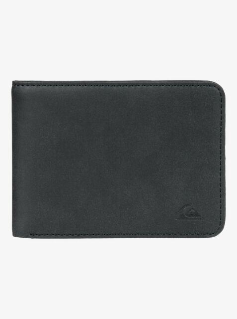 Quiksilver Bridgies Bi-Fold Wallet Black New
