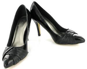 Tacon-Disenador-Charol-Zapatos-de-corte-Negro-Mujer-Talla-7