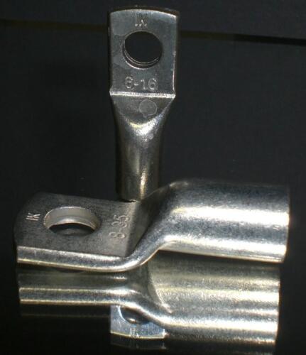 M8 Neu 10 Stück Rohrkabelschuhe Ringkabelschuhe unisoliert Ringform 50,0mm²