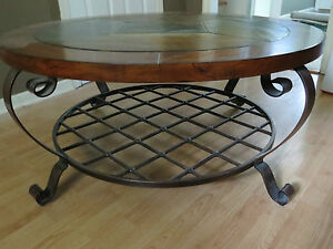 Edgewood-Canyon-Round-Cocktail-Table-or-Coffee-Table-42-034-Wide
