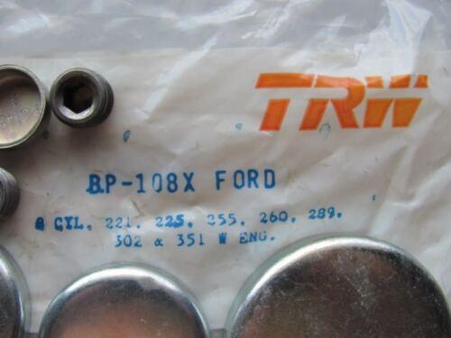 TRW BP108X Freeze Expansion Plug Set SBF Ford 225 255 260 289 302 351W V8