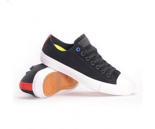 ead2d8a7dde4 Converse CTAS Chuck Taylor All Star Pro Ox Low Top Black white Size 11  154907c for sale online