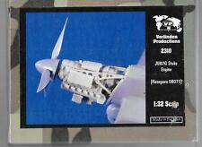 Verlinden Ju-87G Stuka Engine Resin Upgrade for the Hasegawa Kit in 1/32 2310 ST