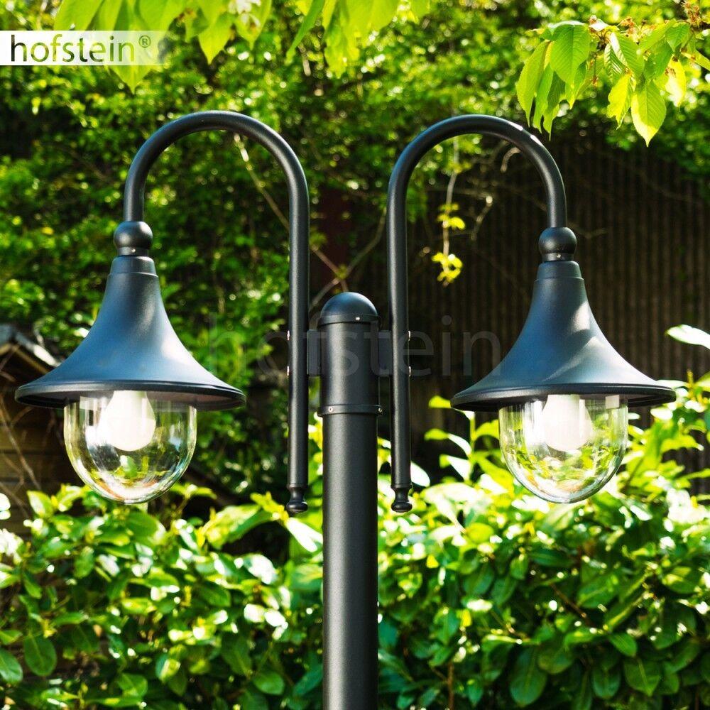 Außenstehlampe Kandelaber Wege Lampen Garten Weg Aussen Steh Leuchten schwarz