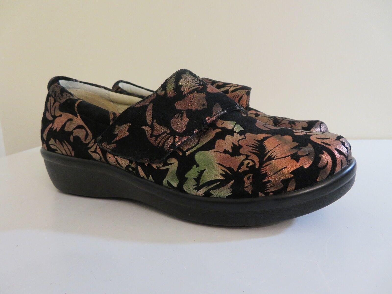 Alegria Impreso Nubuck Zapatos w correa de cruz Lauryn 37 37 37 37W  edición limitada