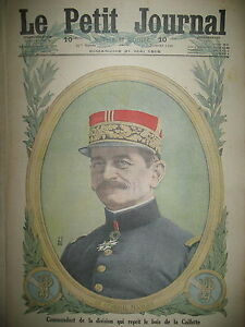 WW1-GENERAL-MANGIN-BOIS-DE-LA-CAILLETTE-Rgt-SOLDATS-RUSSES-LE-PETIT-JOURNAL-1916