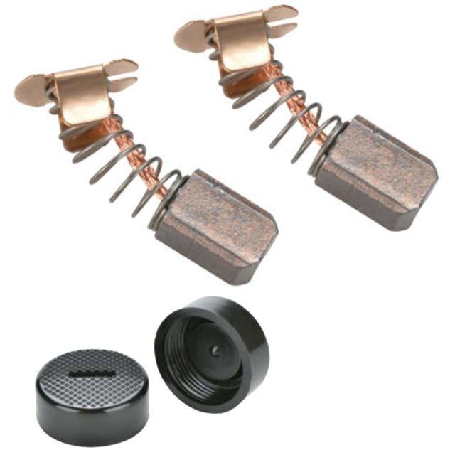 Carbon Brush Replacement Cap Kit For MAKITA DGA452 BGA452 BGA452RFE BGA452SFE