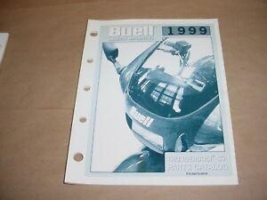 Details about Buell Parts Catalog 1999 THUNDERBOLT M3 99570-99YA