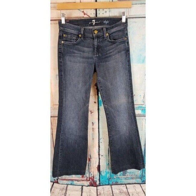 7 For all Mankind women's Dojo wide leg jeans size 25