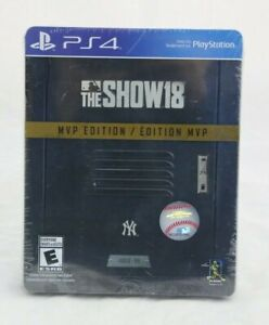 MLB-The-Show-18-MVP-Edition-PS4-Playstation-4-Brand-New-Factory-Sealed-Limited