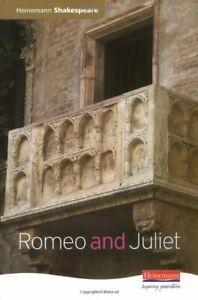 Romeo and Juliet (Heinemann Shakespeare) by Seely, Mr John Hardback Book The