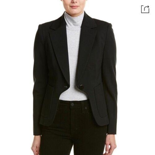 Diana Von Furstenberg Flynn black blazer 6