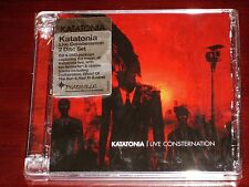 Katatonia: Live Consternation CD DVD Set 2007 Peaceville Super Jewel Box NEW