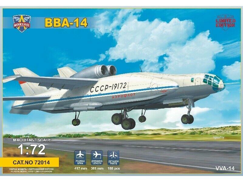 benvenuto a comprare modelloSVIT 1 72 Bartini Beriev VVA-14 SCATOLA DI DI DI MONTAGGIO  qualità autentica