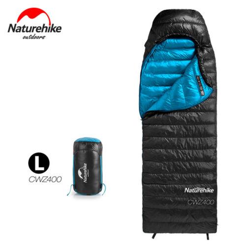 NATUREHIKE Portable Enveloppe Sac de couchage duvet camping Randonnée Hiver Chaud