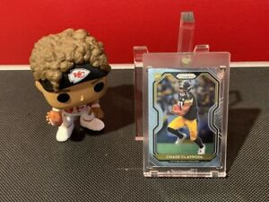 2020 Panini Prizm Chase Claypool Rookie #392 Pittsburgh Steelers! INVEST!!