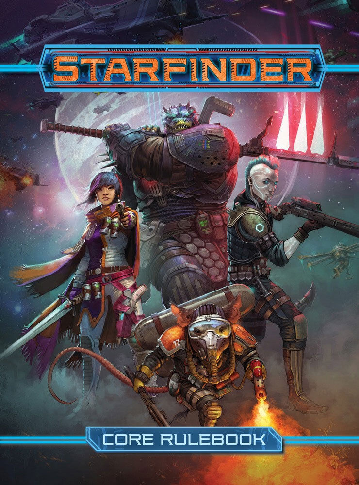 PZO7101 Starfinder RPG  Core Rulebook Hardcover FREE SHIPPING