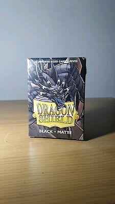 Japanese Yu-Gi-Oh Size Cardfight Black Dragon Shield Small Matte Sleeves