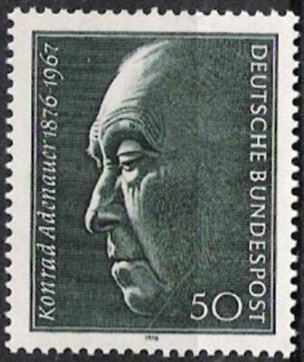 AnpassungsfäHig Bund Nr.876 ** Konrad Adenauer 1976, Postfrisch