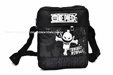 One Piece /Whitebeard Jolly Rogers canvas messenger shoulder Bag (OPSB2)