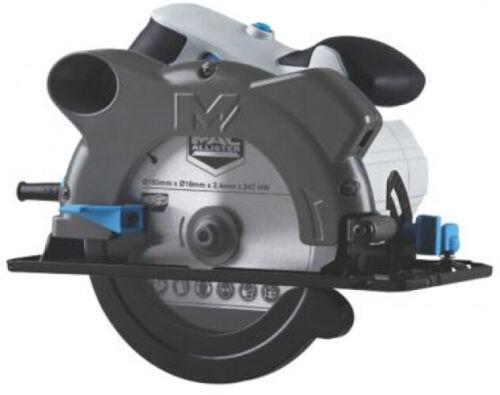 Mac Allister MSCS 1200 1200 W électrique 165 mm scie circulaire 220-240 V