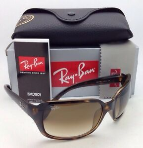 c1729e7df9c New RAY-BAN Sunglasses RB 4068 710 51 60-17 Havana Frame w Brown ...