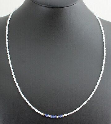 Peridot collar a calidad con plata mosquetón 6 mm//45 cm